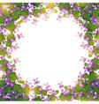 border of wild violet vector image