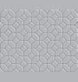 3d pathway pattern vector image vector image