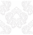 Baroque Damask ornament pattern vector image vector image