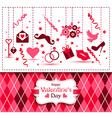 card of Valentine Day vector image vector image