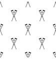 crutches icon black single medicine icon from the vector image