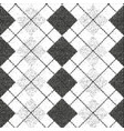 distressed overlay texture of weaving fabric vector image vector image