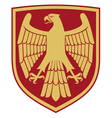 Eagle - coat of arms vector image vector image