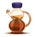grapes vinegar icon cartoon style vector image