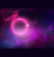 outer space anomaly abstract background vector image