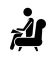 psychologist - consultant icon vector image vector image