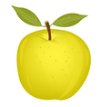 Ripe wanted apple vector image vector image