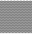 seamless pattern with triangle wave lines vector image vector image