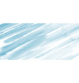 abstract light blue watercolor brush stroke vector image