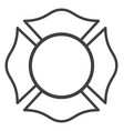 Blank fire rescue department logo base