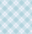 Blue seamless tartan pattern background vector image