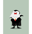 Cartoon Dracula vector image vector image