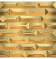 seamless gold wall vector image vector image