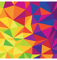 Abstract Low Poly Colorful Background Template