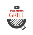 bbq premium grill image vector image