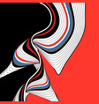 beautiful background design with different waves vector image vector image