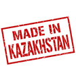 made in kazakhstan stamp vector image vector image