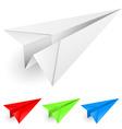paper dart vector image
