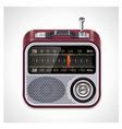 radio xxl icon vector image