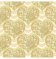 Seamless golden valentine pattern vector image vector image