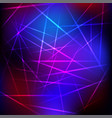 abstract neon background vector image