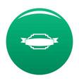 badge premium quality icon green vector image vector image