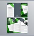 brochure design 943 vector image