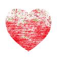Brushed Valentine vector image vector image