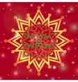 Christmas and New Year ornate cards with holiday vector image vector image