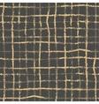 Hand drawn striped and polka dot seamless vector image vector image