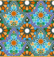 moroccan pattern vector image vector image