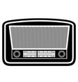 radio old retro vintage icon stock vector image vector image