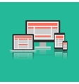 Responsive Design Concept vector image