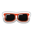 sunglasses fashion isolated icon vector image vector image