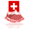 Switzerland icon vector image