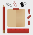 Vintage paper designs vector image vector image
