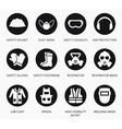 Industry health and safety protection equipment vector image