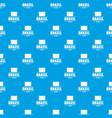 brazil tourist pattern seamless blue vector image vector image