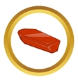 Coffin icon vector image vector image