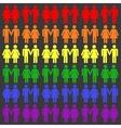 gay LGBT seamless pattern vector image vector image