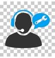Operator Service Message Icon vector image vector image