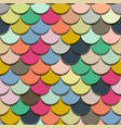 paper scales seamless squama colourful vector image vector image