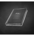 School notebook vector image