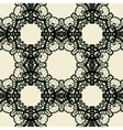 Oriental seamless Print of stylized lace vector image