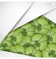 Abstract Background With White Paper Layers vector image vector image