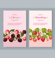 Berry vertical banners