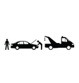 Car breakdown vector image