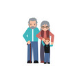 people member family flat image vector image vector image