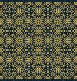 vintage arabic pattern vector image