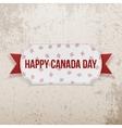 Happy Canada Day realistic Emblem vector image